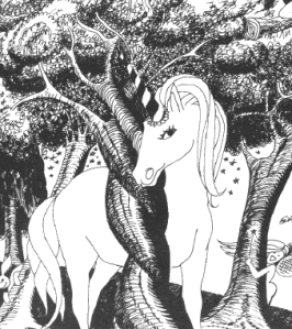 While this unicorn may not be real, the license upon which its drawn actually is...