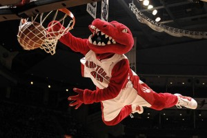 Until this season, the most exciting thing about the Raptors was the team's unnamed mascot who, ironically, tore his Achilles tendon just as the team got good again.