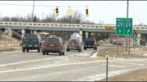 Interstate 69 takes Michigan drivers as far south as the Indiana border and as far east as the Blue Water Bridge into Ontario. (Photo credit: abc12.com)