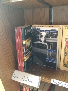 Old Northwest Review and Selected Writings from Michiganders Post are two of the FCNI books available for sale at Fenton's Open Book in downtown Fenton, Michigan!